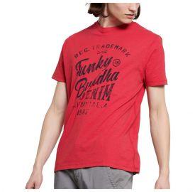 Funky Buddha Ανδρική κοντομάνικη μπλούζα